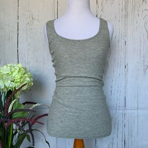 James Perse Standard Ribbed Ray Tank Size 1